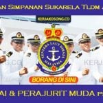 Jawatan Kosong Pasukan Simpanan Sukarela TLDM ~ Pegawai & Perajurit Muda