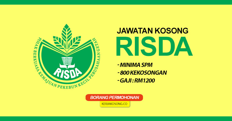 Jawatan Kosong Risda 800x418