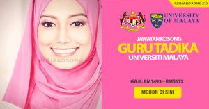 Jawatan Kosong Guru Tadika N29 Universiti Malaya (UM)