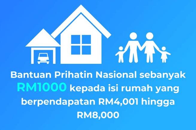 Bantuan prihatin nasional rm1000