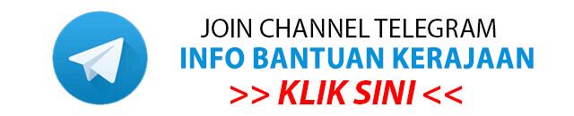 Channel Telegram info bantuan kerajaan
