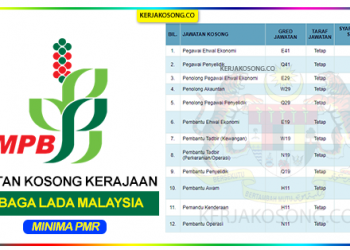 Jawatan Kosong Lembaga Lada Malaysia Lada terkini