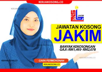 jawatan kosong jabatan kemajuan islam malaysia jakim terkini