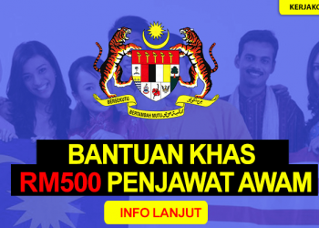 Bantuan RM500 Penjawat Awam