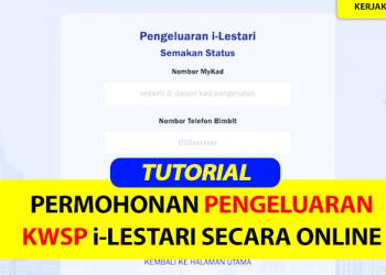 Cara Pengeluaran KWSP Secara Online