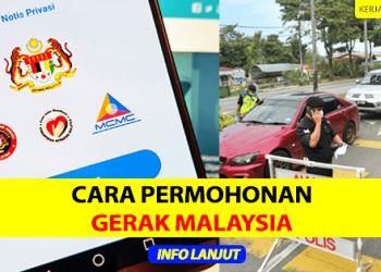 Cara Permohonan Gerak Malaysia