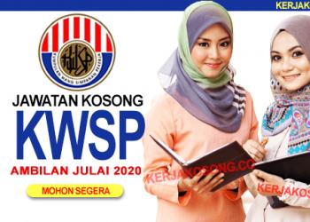 Jawatan Kosong KWSP career terkini