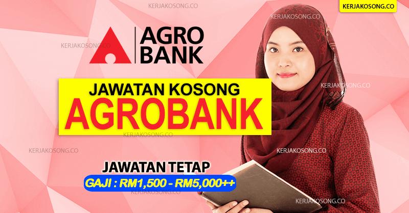 Jawatan Kosong Agrobank terkini