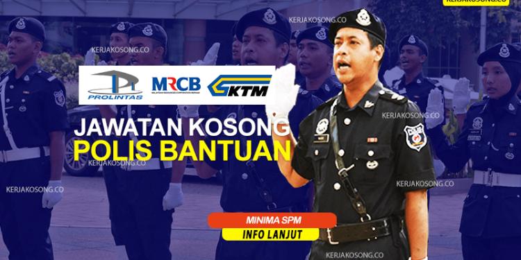 Jawatan Kosong Polis Bantuan malaysia