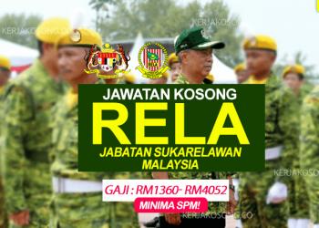 Jawatan Kosong Rela Jabatan Sukarelawan Malaysia