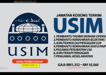 Jawatan Kosong Universiti Sains Islam Malaysia Usim terkini