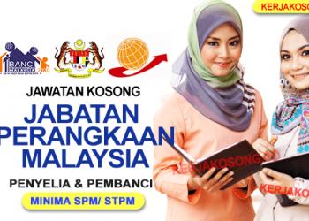 jawatan kosong jabatan perangkaan malaysia Terkini