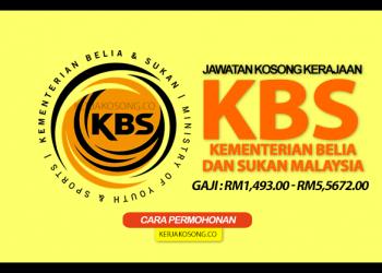 jawatan kosong kementerian belia & sukan malaysia terkini