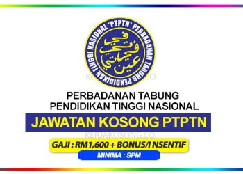 jawatan kosong PTPTN Terkini 2020
