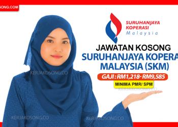 jawatan kosong suruhanjaya koperasi malaysia skm terkini