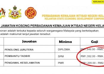 Jawatan Kosong Perbadanan Kemajuan Iktisad Negeri Kelantan PKINK