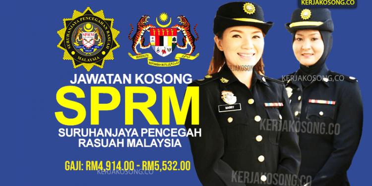 Jawatan Kosong SPRM 2020