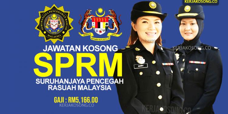 Jawatan Kosong SPRM 2021