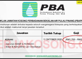 Perbadanan Bekalan Air Pulau Pinang COVER KC SEP 2020