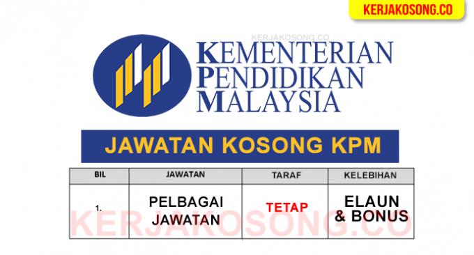 kementerian pendidikan malaysia jawatan kosong