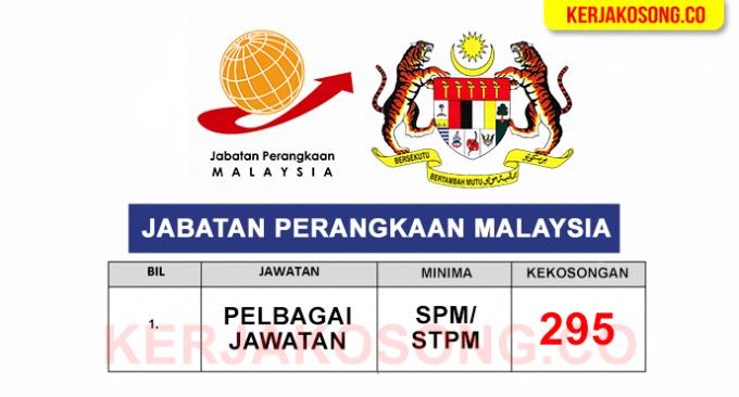 kerjaya jabatan perangkaan malaysia