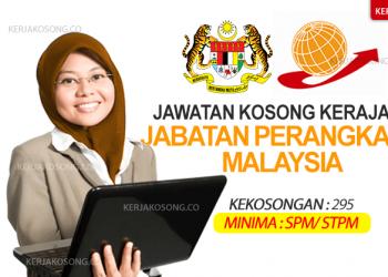kerjaya jawatan jabatan perangkaan malaysia