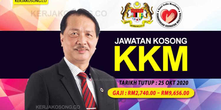 Jawatan Kosong KKM kementerian Kesihatan Malaysia DG