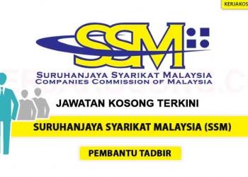 Jawatan Kosong Suruhanjaya Syarikat Malaysia SSM OKT 2020