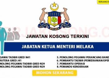 Jabatan Ketua Menteri Melaka KC 2020