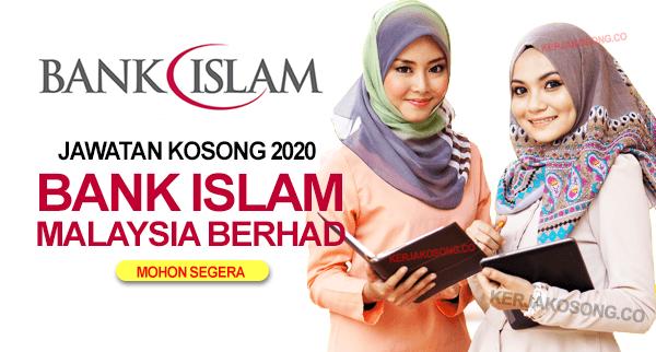 Jawatan Kosong bank islam malaysia terkini