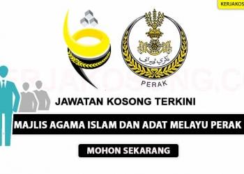 Majlis Agama Islam dan Adat Melayu Perak KC NOV 2020