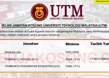 Universiti Teknologi Malaysia UTM NOV 2020