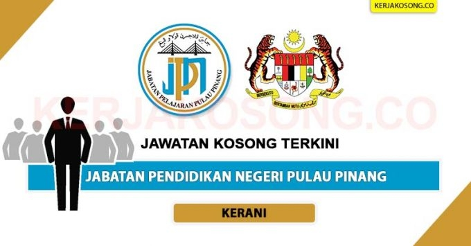 Jawatan Kosong Jabatan Pendidikan Negeri Pulau Pinang scaled