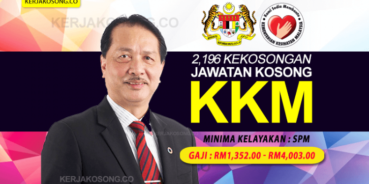 Jawatan Kosong KKM kementerian Kesihatan Malaysia DG Terkini