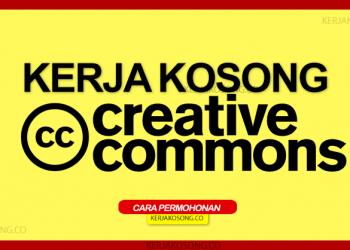 Kerja Kosong Creative Commons Malaysia 2021
