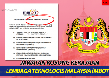 Kerjaya Lembaga Teknologis Malaysia (MBOT)