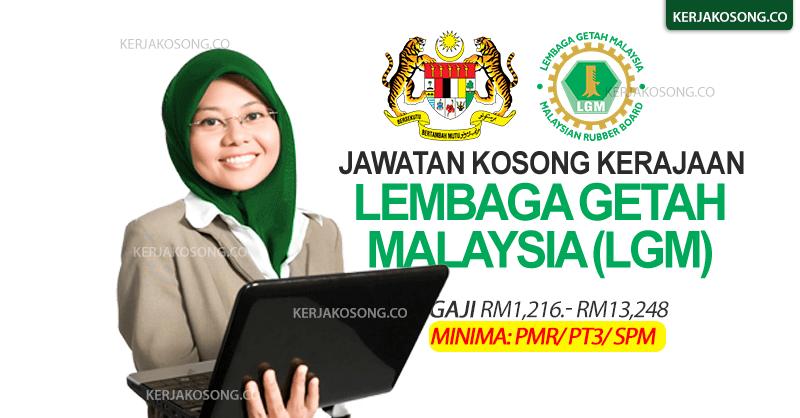 jawatan kosong lgm lembaga getah malaysia 2021 terkini