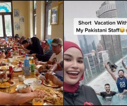 Bos Pemurah Belanja Staf Warga Pakistan Makan & Lepak Di Hotel 4 bintang!