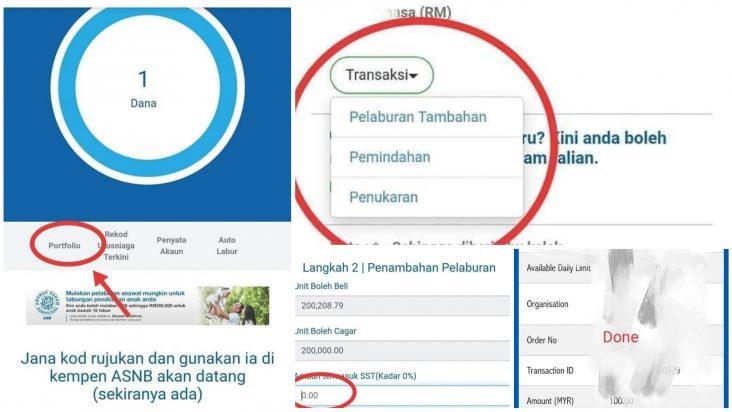 Cara Senang Transfer Duit Ke ASB Secara Online Tanpa Caj, Dari Semua Bank Boleh!