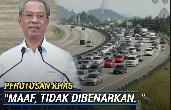 'Maaf Rentas Negeri Tidak Dibenarkan' Ismail Sabri, PKPB Dan PKPP Dilanjutkan.