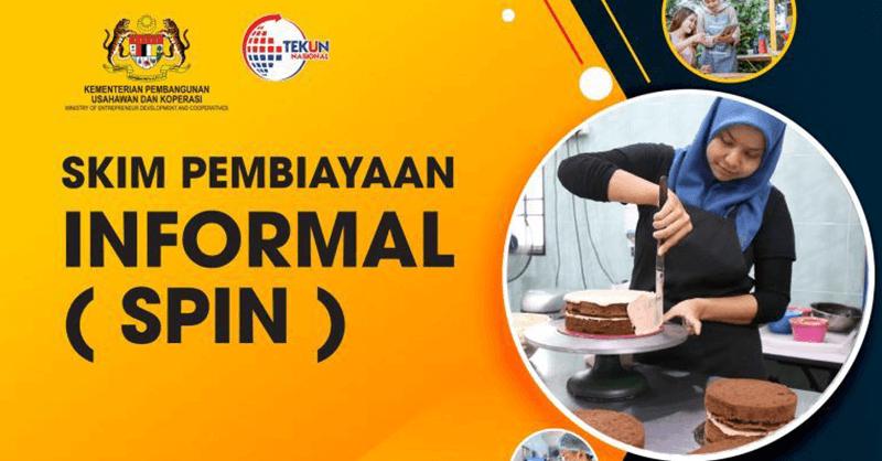 SPIN TEKUN Permohonan Bantuan Sektor Informal RM5000