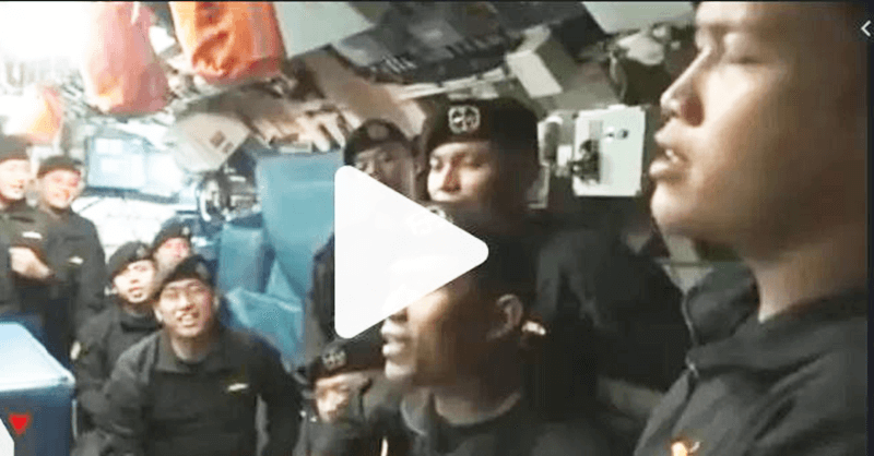[VIDEO] Rakaman Detik-detik Terakhir Perjalanan Nanggala 402, Sempat Dirakam Penumpang Kapal