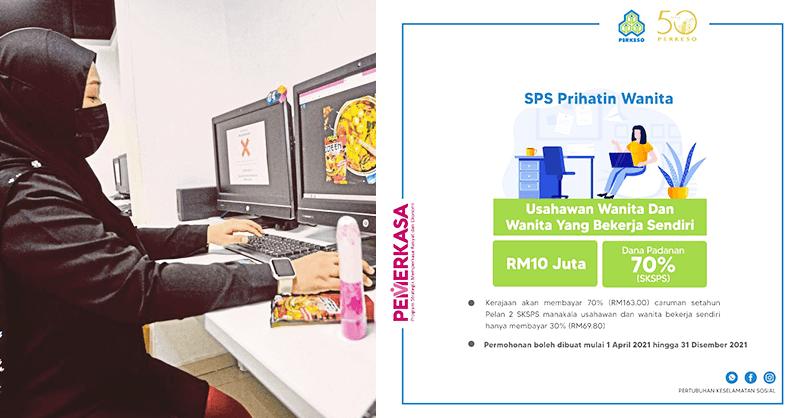 Bantuan Bagi Usahawan & Wanita Bekerja Sendiri Sebanyak RM163 Sebulan 2021