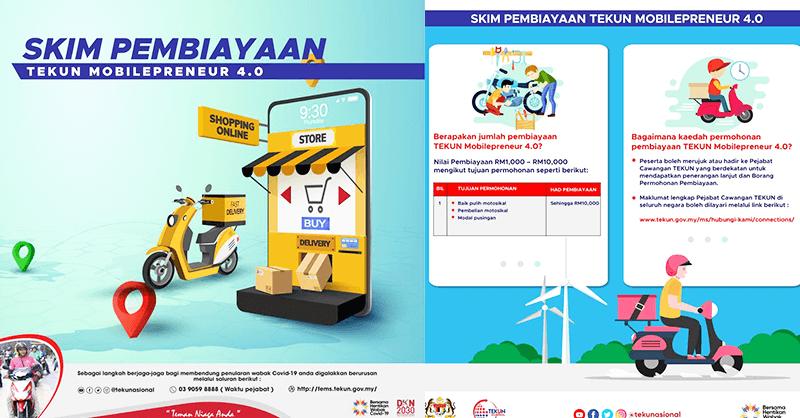Skim Mobilepreneur 4.0: Bantuan Sehingga RM10,000 Kini Dibuka