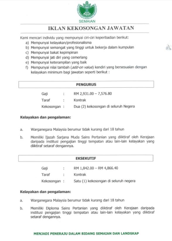 jawatan risda terkini 2021 2 (1)