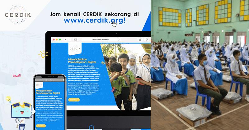 CERDIK: Bantuan Peranti / Laptop Semak Kelayakan Pelajar B40