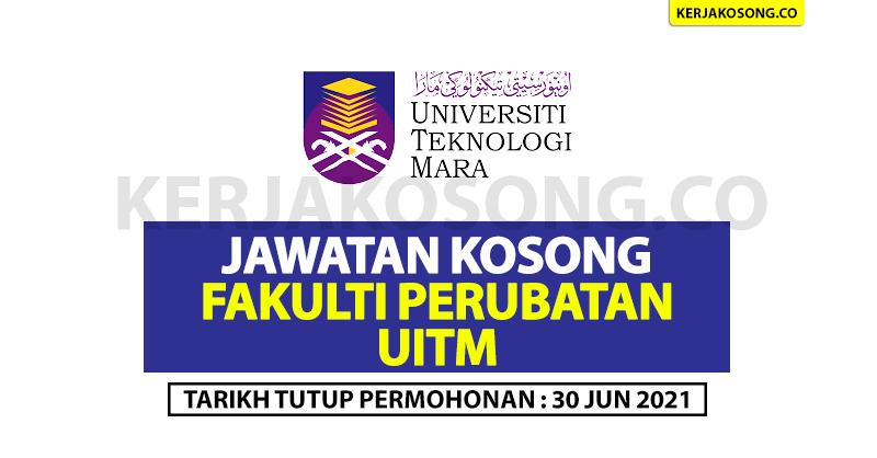 Jawatan Kosong Fakulti Perubatan UITM - Pekerja Sambilan Harian (PSH)