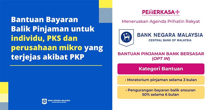 Permohonan Moratorium Automatik PKP 3.0 Bagi B40, M40, T20 & PKS