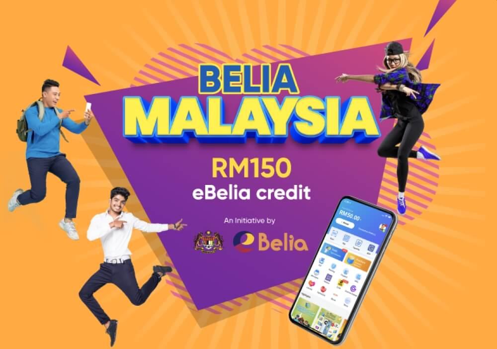 eBelia eWallet RM150 : Semak Cara Tebus Touch 'n Go eWallet RM150 eBelia Sekarang!