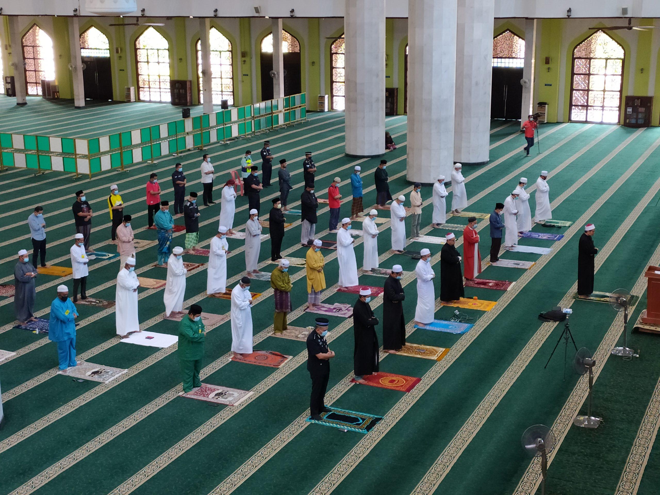 100 jemaah dibenarkan solat Jumaat di Melaka